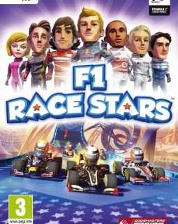 F1 RACE STARS-Cover
