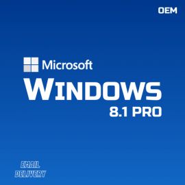 Windows 8.1 Pro OEM CdKeys