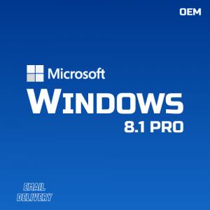 Windows 8.1 Pro OEM CdKeys