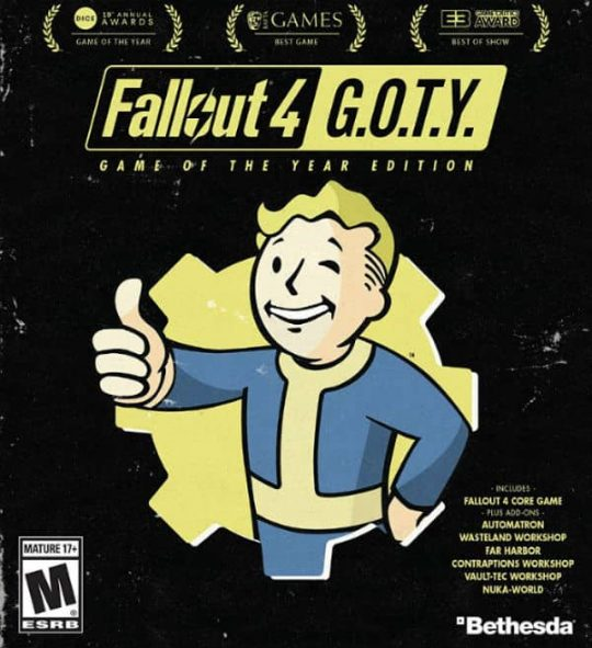 Fallout 4 GOTY Cd-Keys
