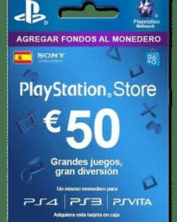 50 euro PSN Spain Gift Card