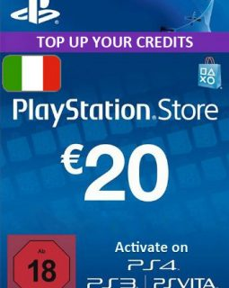 Playstation 20 Italy code