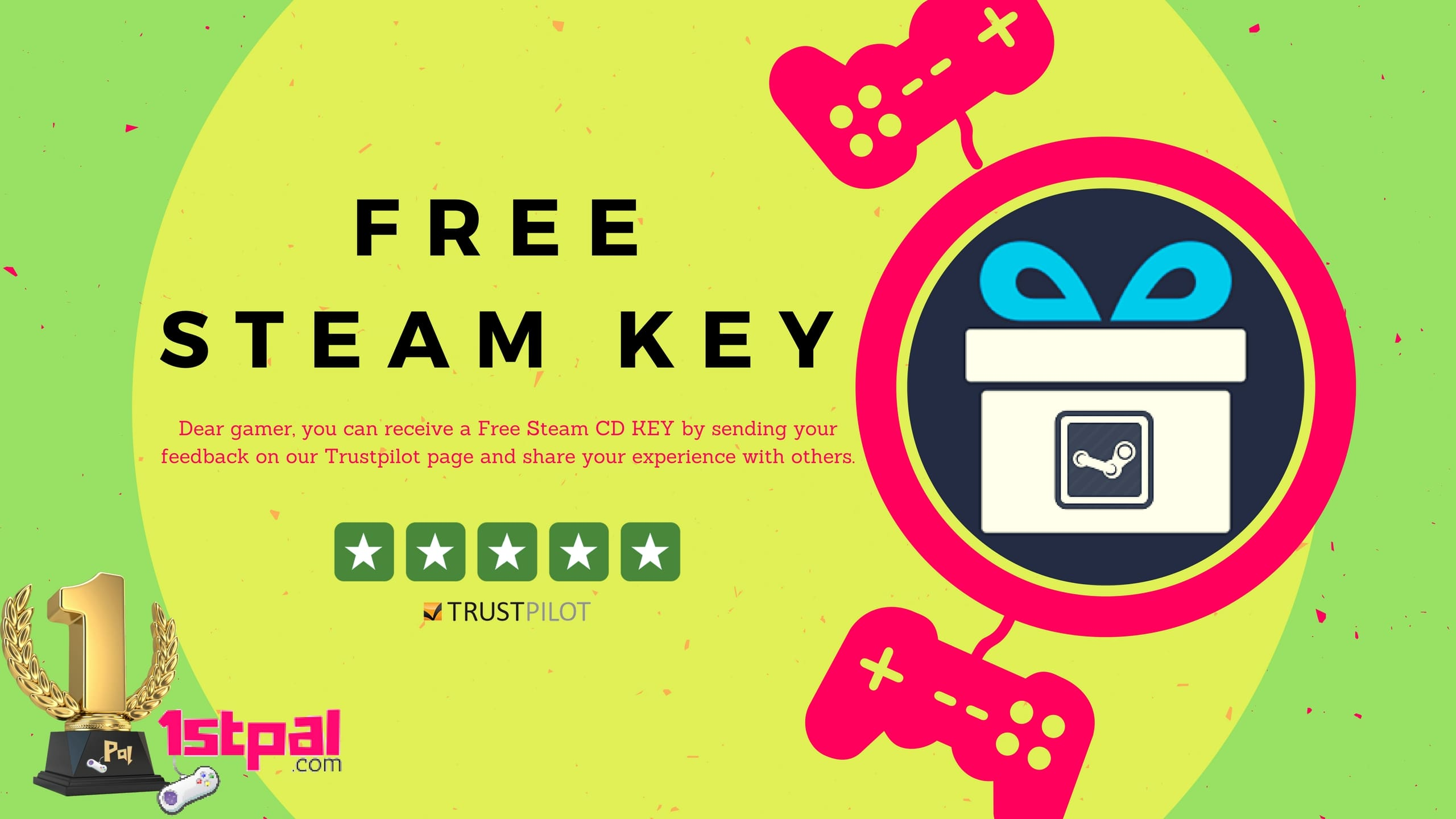 Trustpilot-Free-Steam-Key-1stpal