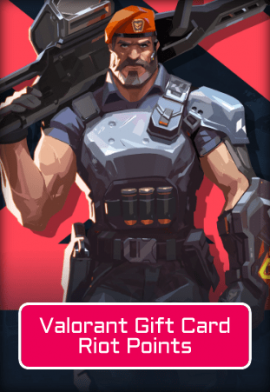 Valorant 1950 Riot Points Gift Card
