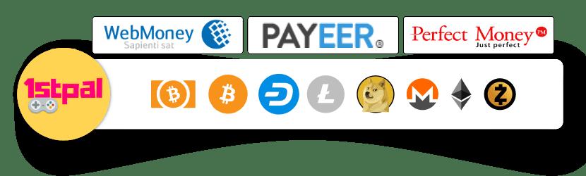 Buy Windows 10 Pro OEM CdKeys ARS Steam Gift cards with Bitcoin Crypto Webmoney Payeer Perfect Money