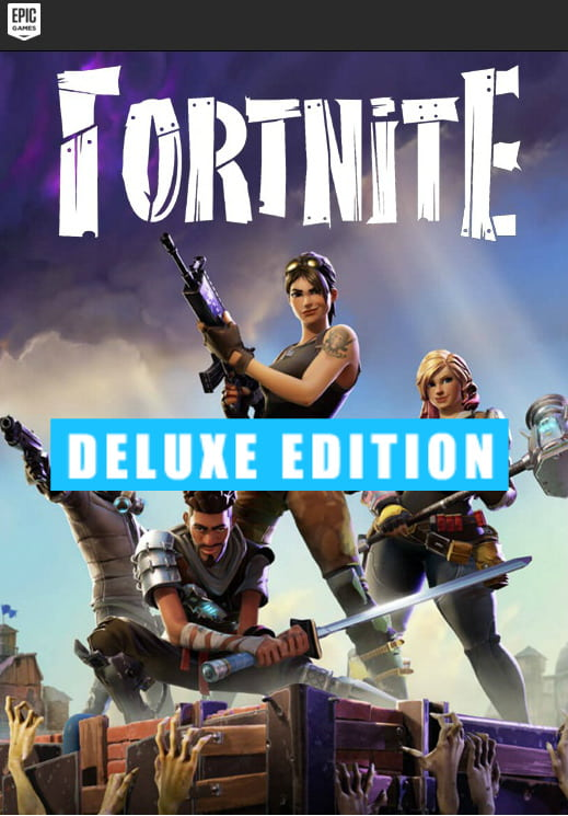 Fortnite Deluxe Edition Cd Key