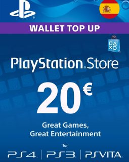 Playstation card 20 Spain