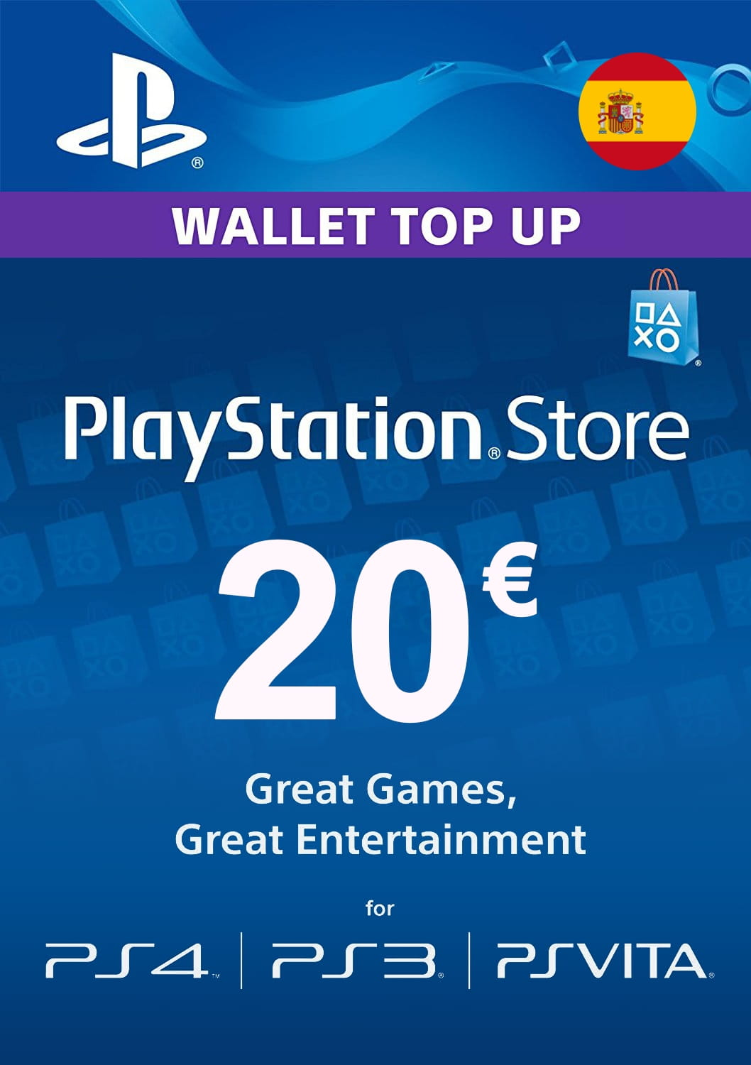 playstation card 20 spain psn 20 euro bitcoin accepted. Black Bedroom Furniture Sets. Home Design Ideas